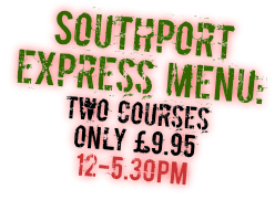 Two Course Italian Lunch only £9.95