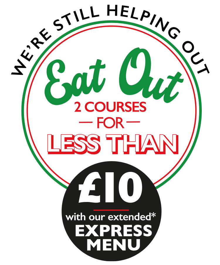 Eat Out for less than £10 Express Menu